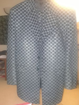 Black gucci suite pants vest for Sale in Rockville, MD