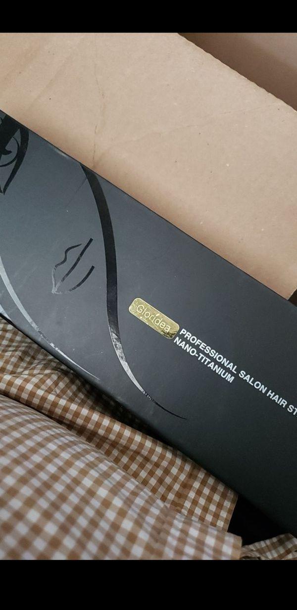 Flat Iron Titanium 1 Inch Professional Hair Straightener with Adjustable Temperature 170-450 ℉