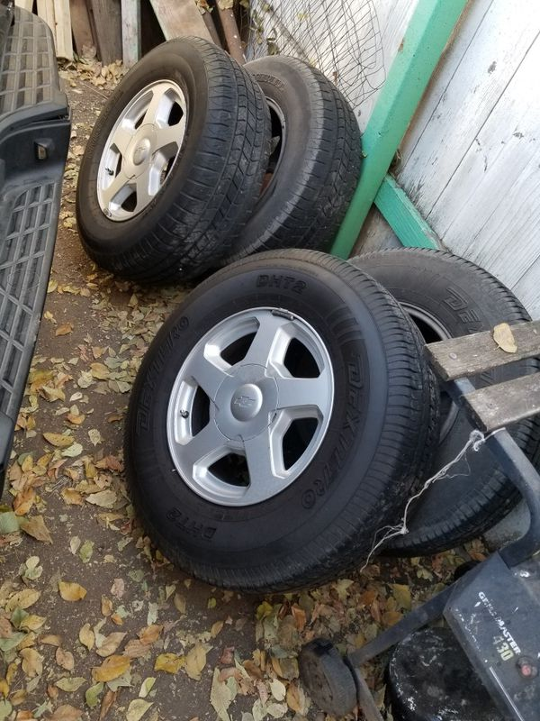 Trailblazer Wheels and tires