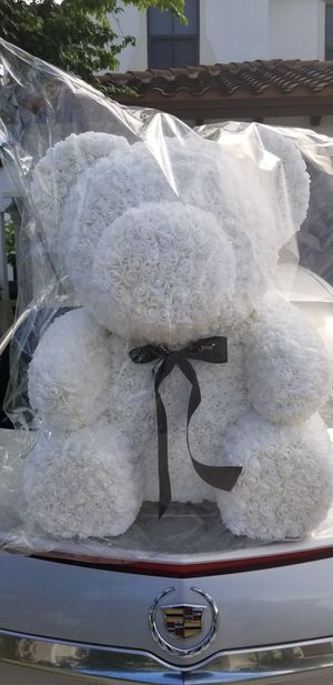 Big Floral teddy bear for Sale in Miami, FL