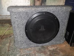 JL audio speaker in box for Sale in Oakland, CA