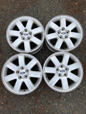 5X114 bolt pattern nice wheels off a ford. Would make good extra set for snow tires. for Sale in Vancouver, WA