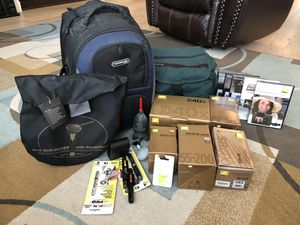 Nikon D40x Camera and a lot of equipment for Sale in Tigard, OR
