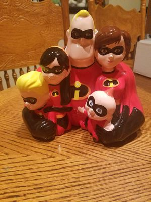 Disney's ceramic the Incredibles Bank for Sale in Portland, OR