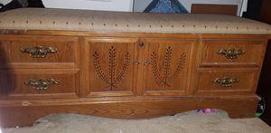 Cedar Chest with Cushion for Sale in Alamo, GA