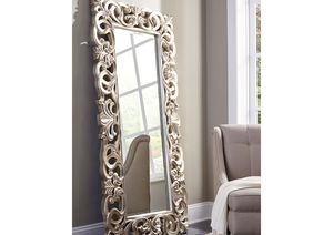 NEW, MIRROR WITH POLY RESIN FRAME, SKU#A8010123 for Sale in Santa Ana, CA