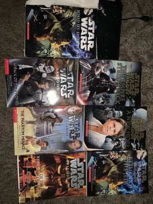 Star Wars books boxed set for Sale in Salinas, CA