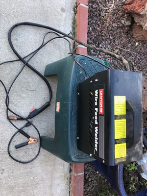 Craftsman wire feed welder $125 obo for Sale in Moreno Valley, CA