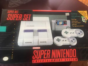 Super Nintendo snes system w 8 Games for Sale in St. Louis, MO