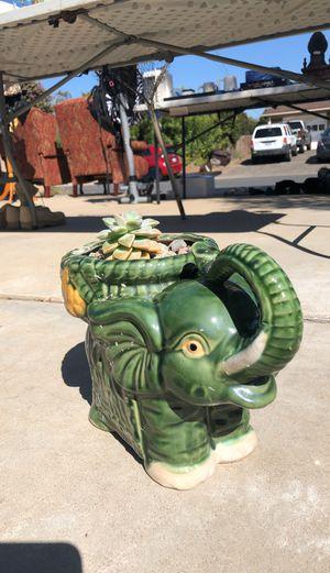 Elephant Ceramic Pot for Sale in Bonita, CA