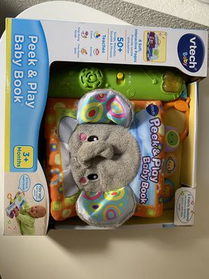Vtech peek and play baby book for Sale in Chandler, AZ