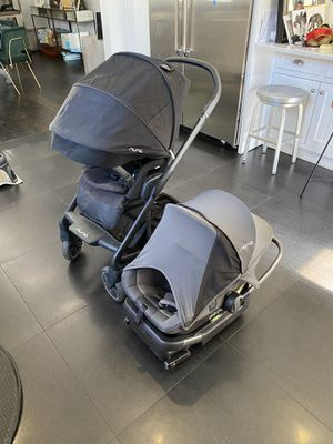 Nuna Mixx Stroller and Pipa Lite w/ Base for Sale in Los Angeles, CA