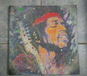 20×20 Original Jimi Hendrix Painting for Sale in Tampa, FL