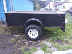 4x8 stainless steel utility trailer for Sale in Portland, OR