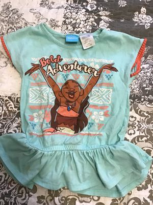 Moana Shirt Size 4 for Sale in Miami, FL