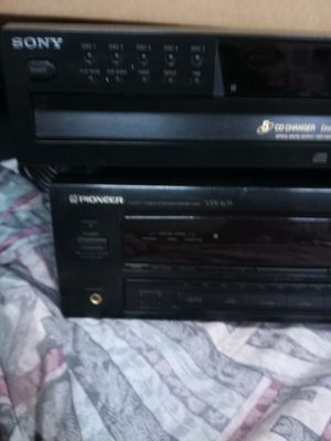 Sony disc changer pioneer receiver for Sale in Aurora, CO