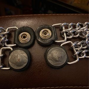 Motorcycle Vest Chains Buffalos And Indian Head Have 4 for Sale in Baltimore, MD