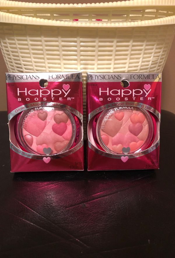 2 Physicians Formula Happy booster blush
