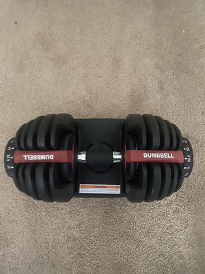 Bowflex 552 Dumbbells for Sale in Herndon, VA