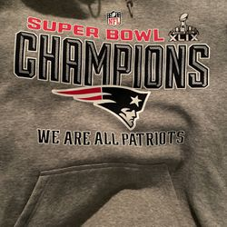 New England Patriots Super Bowl Hoodie Nike XL for Sale in Georgetown,  TX