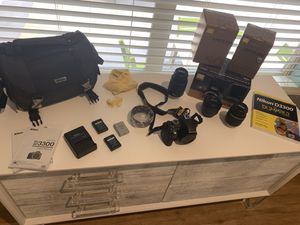Nikon D3300 Camera with 3 lenses for Sale in Seattle, WA