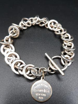Tiffany sterling silver bracelet for Sale in Shelbyville, TN