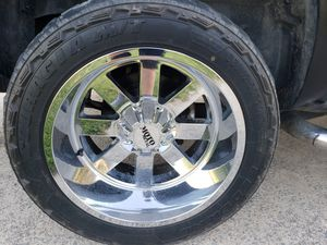 20x12 moto metal rims and tires for Sale in Robersonville, NC