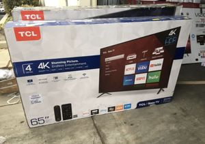 "65"" TCL roku smart 4K led uhd hdr tv for Sale in Chula Vista, CA"