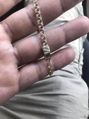 Kids chino link bracelet for Sale in Houston, TX