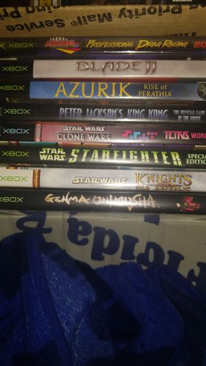 8 Xbox games MAKE OFFER for Sale in Ruskin, FL