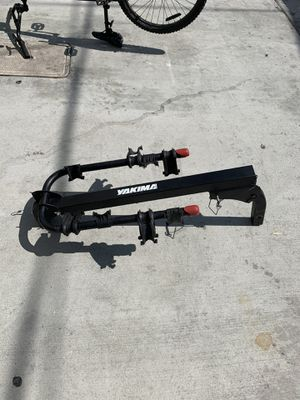 Yakima 4 bike rack for 2 inch trailer hitch (MISSING STRAPS!) for Sale in San Diego, CA