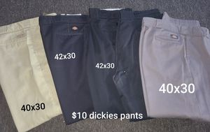 Dickies pants various sizes for Sale in Dickinson, ND