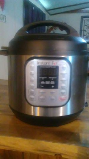 Instant pot electric pressure cooker for Sale in Grand Prairie, TX