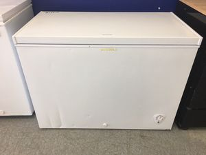 NEW SCRATCH AND DENT FRIGIDAIRE CHEST FREEZER/1 YEAR WARRANTY for Sale in Garfield Heights, OH