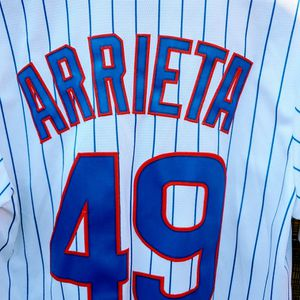 Authentic Cubs #49 Arrieta Jersey for Sale in Fillmore, CA