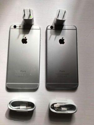 Factory unlocked apple iphone 6, store warranty 64 gb for Sale in Boston, MA
