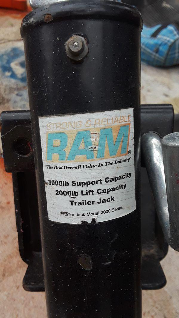 RAM Trailer jack