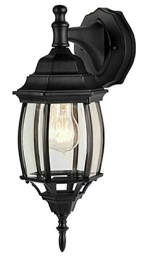 Four-Sided Outdoor Wall Lantern,Waterproof Outdoor Down-Facing Exterior Lights for Front Door,Backyard,Garage,Patio or Décor,Black Finish for Sale in Las Vegas, NV