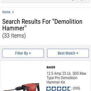 Demolition Hammer for Sale in Gilbertsville, PA