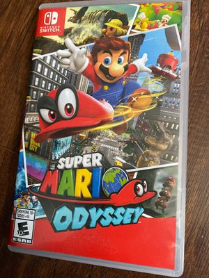"""2 Nintendo Switch Games """"Zelda"""" and """"Mario Odyssey"""" for Sale in Des Plaines, IL"""