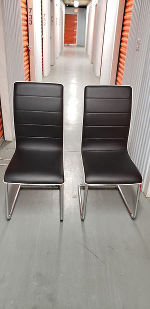 Two Black Chairs for Sale in Washington, DC