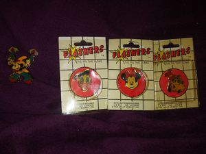 Rare disney pin flashers one got opened for Sale in Lorain, OH