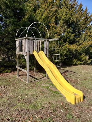 Swing set tower and slide for Sale in Rio Grande, NJ