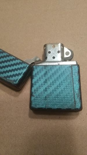 Zippo Lighter-Metallic Blue for Sale in Fremont, CA