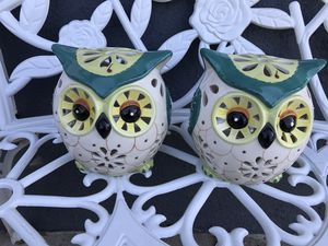 Owl candle holders for Sale in Garden Grove, CA