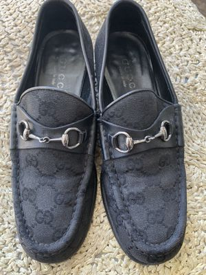 Gucci GG black loafers size 7 for Sale in Milwaukie, OR