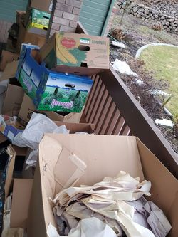 FREE Moving Boxes And Packing Paper for Sale in Wenatchee,  WA