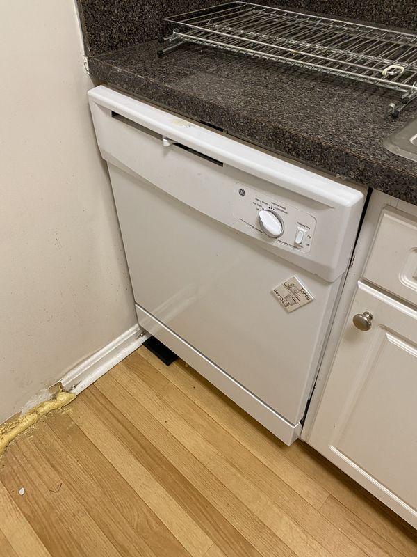 Electric Range, Dishwasher, and Dryer