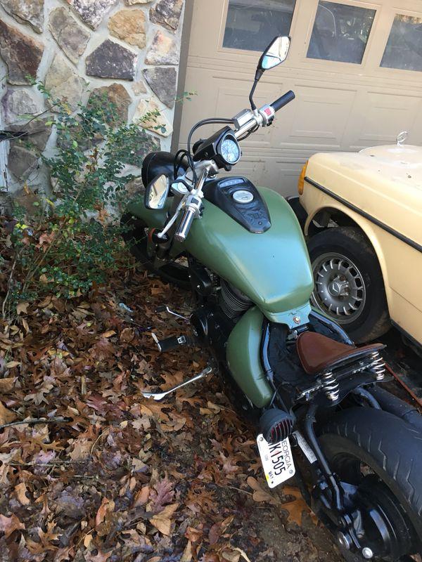 2007 suzuki blvd custom motorcycle