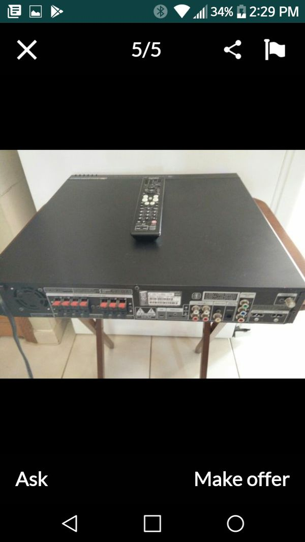 1000 watt Samsung home theater system